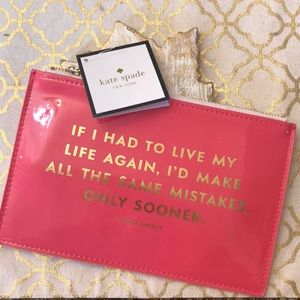 New Kate Spade Pencil Pouch